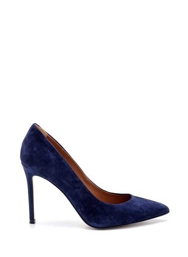Derimod Kadın Stiletto (2536 05) Klasik Lacivert